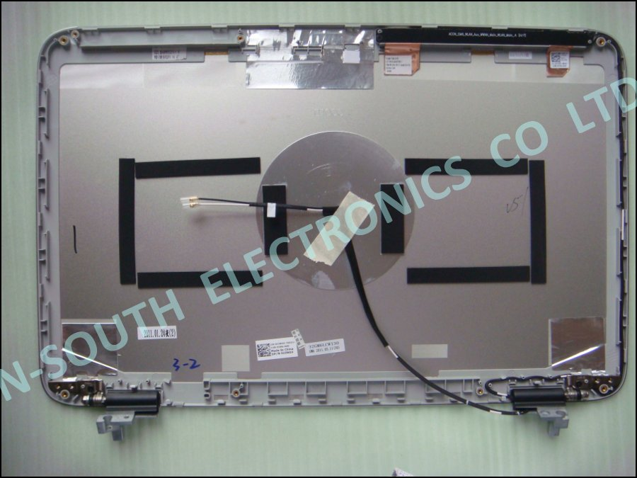 Laptop LCD Screen Housing for dell xps l501x l502x with hinge j3ngv