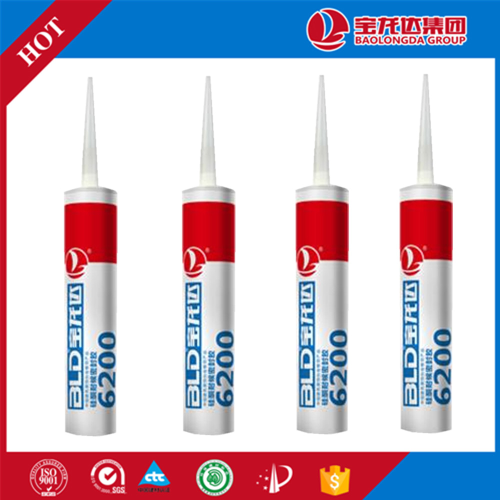 Ozone Resistant Glass Ge Silicone Sealant BLD6200