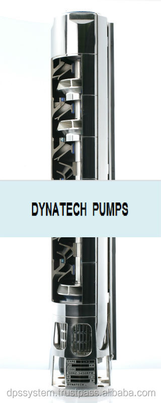 Deep Well Submersible Pump/ Casted Stainless Steel Pump/ DT Series
