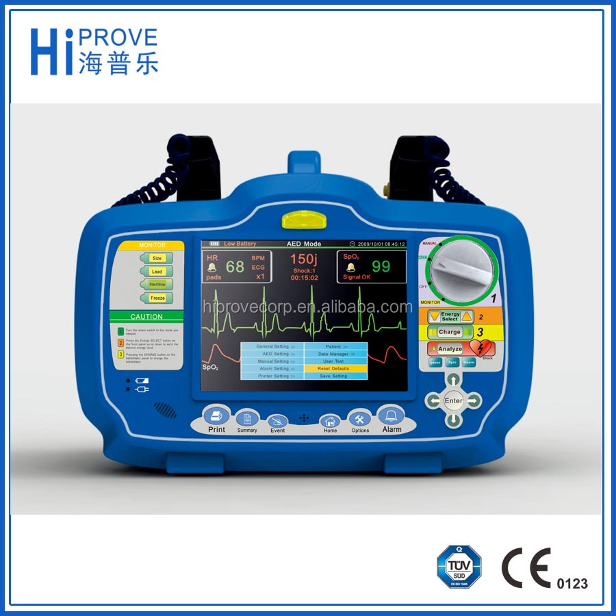Biphasic Cardiac AED Automated External Defibrillator