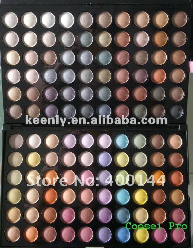 Wholesale multi-color 120 colors eye shadow make up palette pass SGS tested