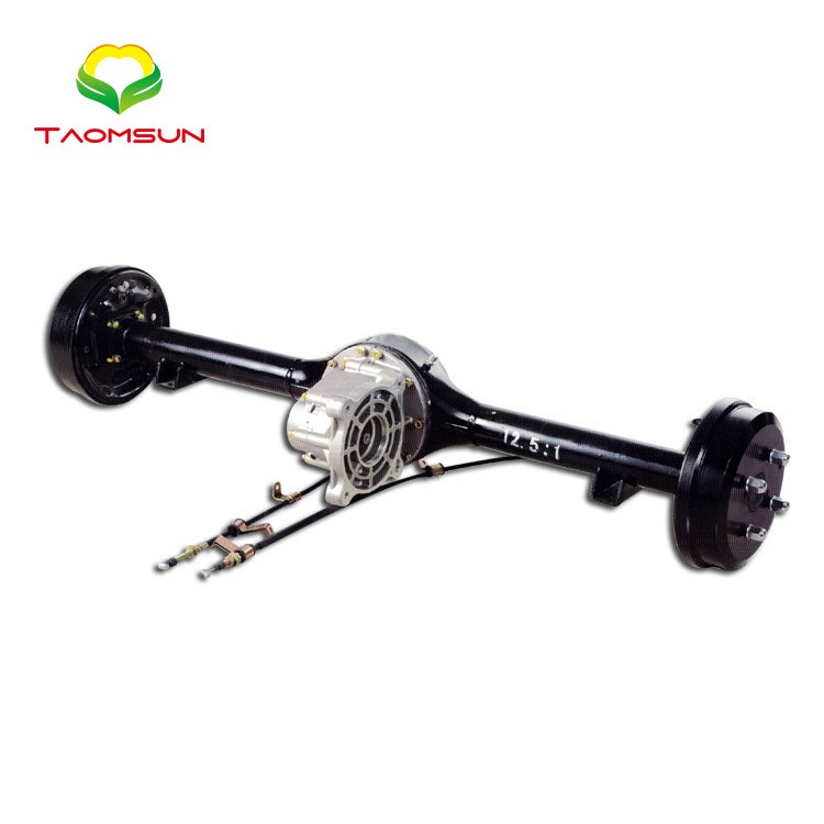 Professional Manufacture 3 Wheeler Rear Axle