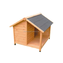 Deluxe wooden weatherproof dog kennel crate dog house