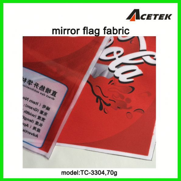 satin flag fabric for outdoor/indoor advertising