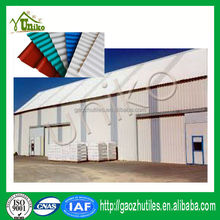 PVC Material pvc corrugated sheet roof for poultry house