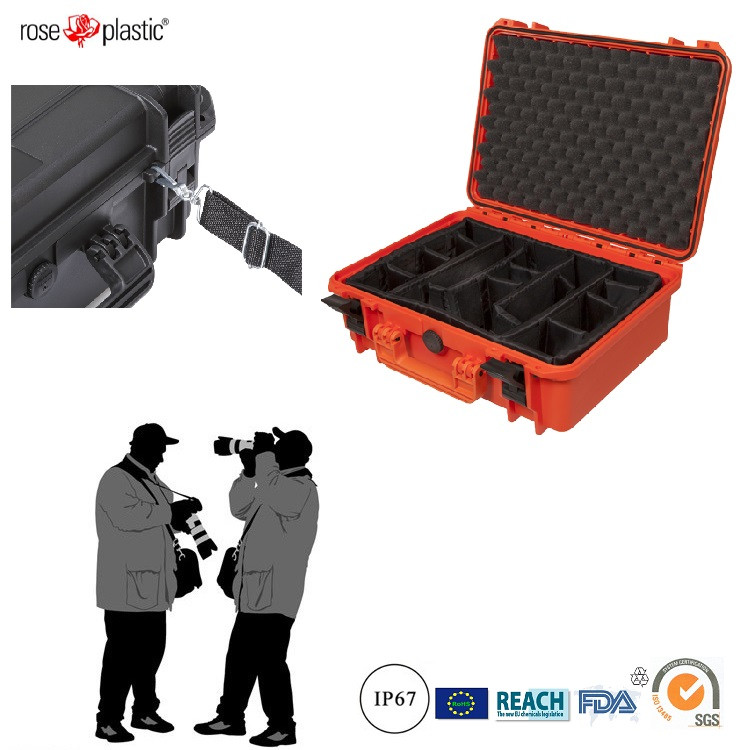 Hard durable solid handheld ABS plastic box for camera facility installation mating with IP67 waterproof RC-PS 290/1