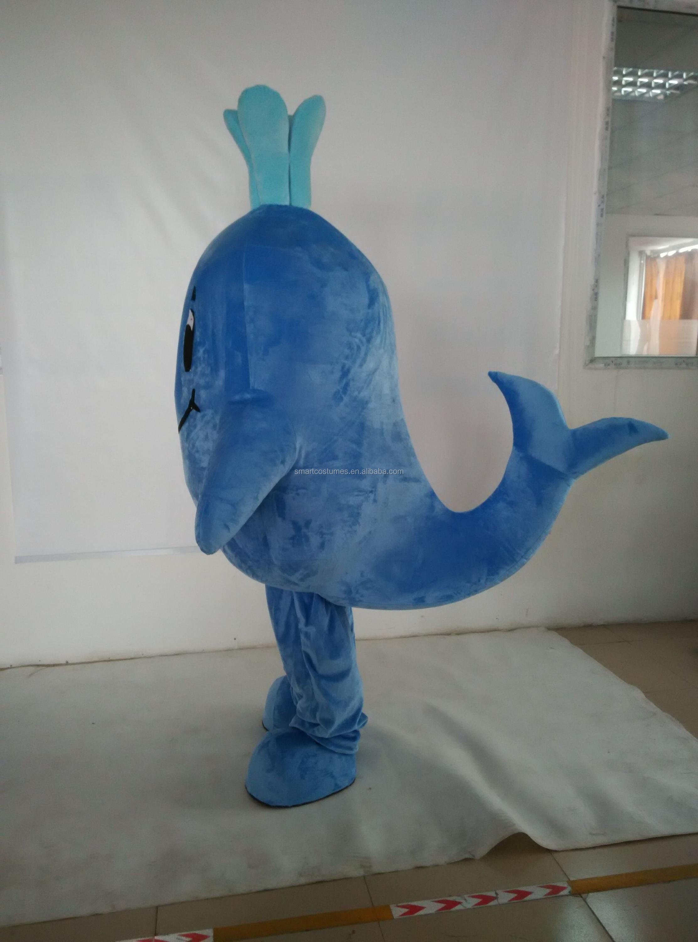sm 255 big blue whale mascot costume whale costumes for adults