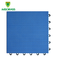 anti-slip suspended interlocking sport court tiles soft outdoor runway pp flooring