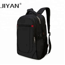 New custom men's fashion stylish leisure PU leather school laptop bag backpack