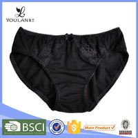 China Supplier Sweet Lovely Girl Black Bow Tie Hot Design Fitness Sexy Girl Nylon Japanese Sex Beautiful Panty