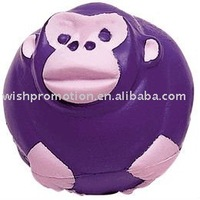 pu stress monkey toy
