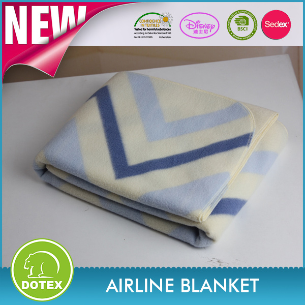 Famous Airlines in cooperation Anti stretch 20 times washing home use mora blanket spain