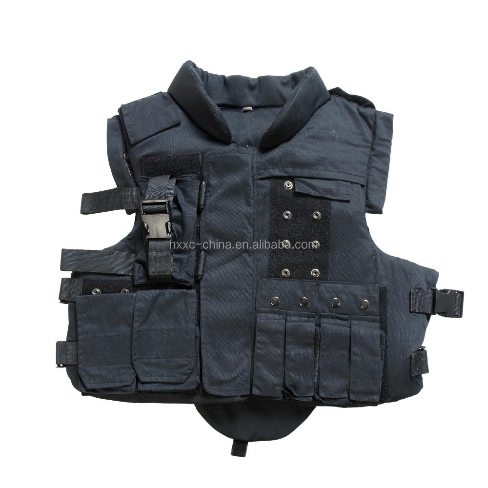 NIJ IIIA Military bulletproof vest,hunting protective police vest Black,Tan color,concealable bulletproof vest