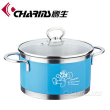 Charms color nonstick magic cooking pot with factory price cookware