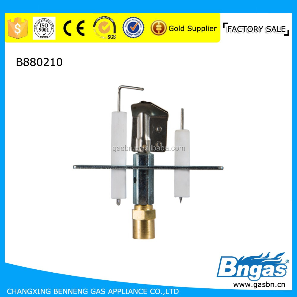 B880210 gas water heater spare parts/pilot burner assembly