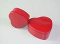 Happy holiday Gift box Containers that can hold a gift heart gift tin box