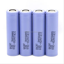 rechangeable 3000MAH battery for Samsung18650-30A battery 18650 alkaline battery