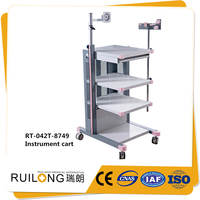 High quality hospital medical surgery instrument trolley from China