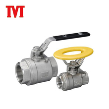 Affordable large size teflon threaded ball valve brass