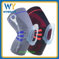 Private Label Service Customized Knee Support Brace High Elastic Knee Sleeve