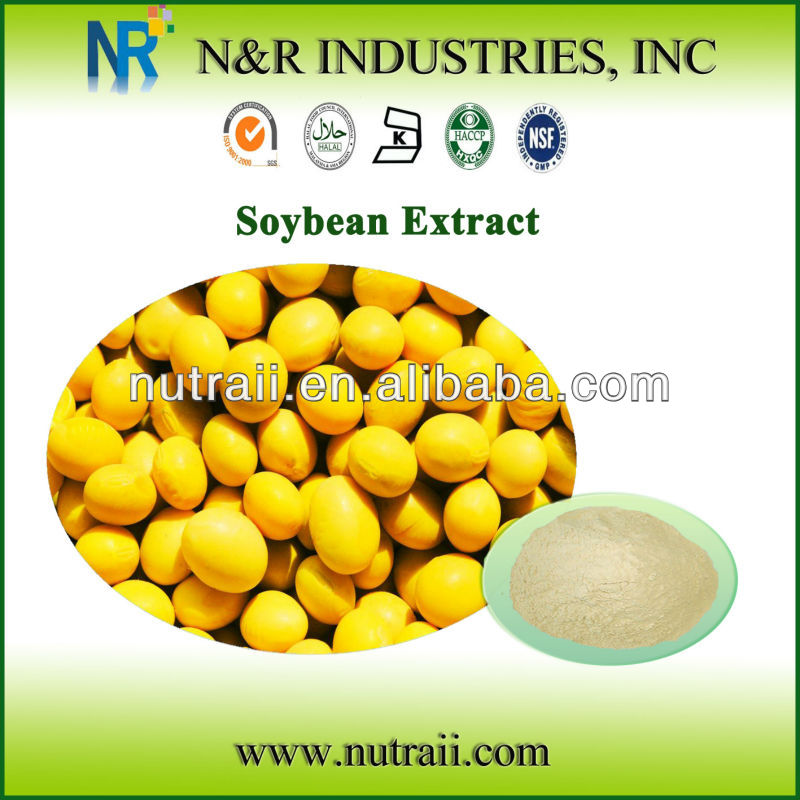 Reliable supplier soy isoflavones p.e 40% Isoflavones