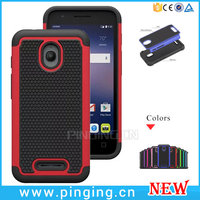 Football Textures PC Silicone Hybrid Shockproof Case For Alcatel One Touch Dawn 5027B Cover