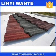 high quality colorful stone coated metal roof tile manufacturer
