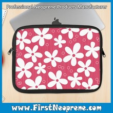 Flower Pattern Aztec Neoprene Laptop Sleeve With Zipper 2016