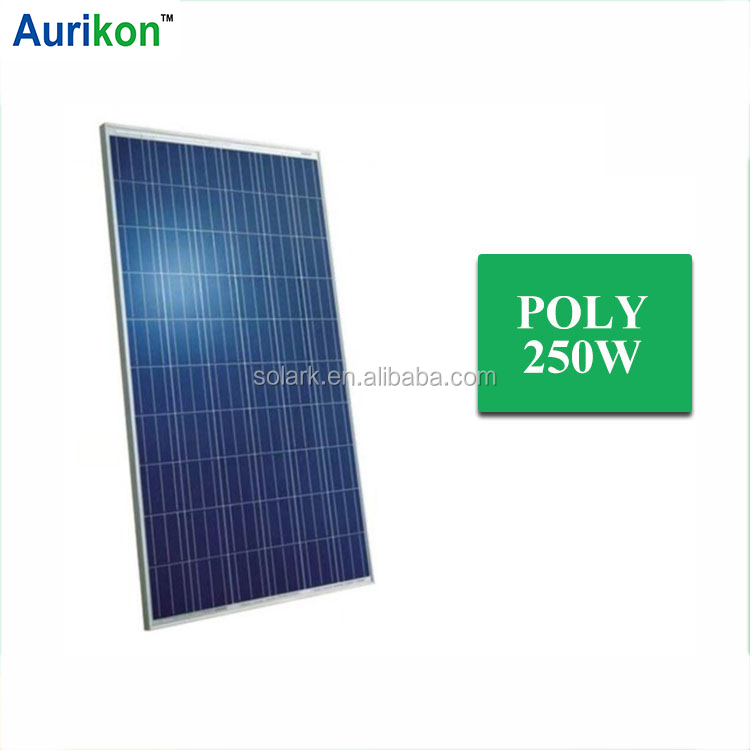 250W Poly solar panel solar charging kit OEM to Europe UK Africa Thailand Spain