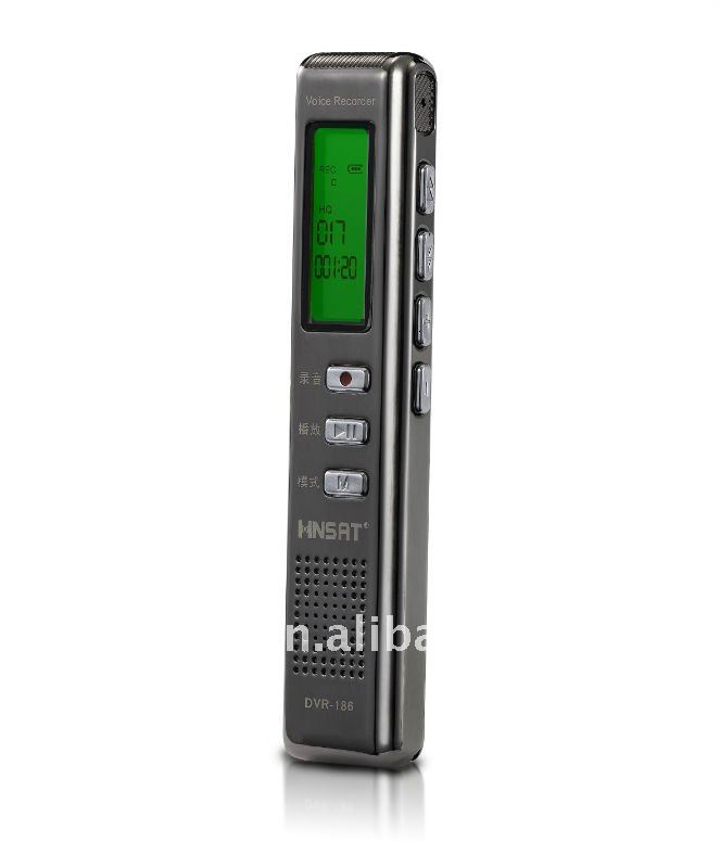 4gb slim metal housing mini toy voice recorder with recording files folder function