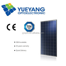 YYOPTO poly 72 piece solar panel 156*156 solar cell chip