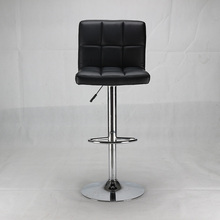 top sale adjustable PU seat height adjustable metal bar stool supplier