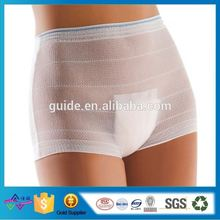 Health China Sex Girls Photos Panties Disposable Mesh Panties High-Grade Disposable Net Panties