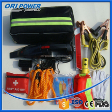 OP CE FDA ISO approved wholesale raincoat auto emergency tool kit for car