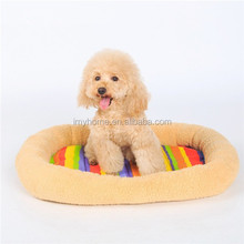 Luxury heated dog beds plush lucky pet beds for dog sales