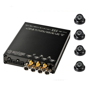 4 channels high definition Mini Size SD Card 1080p 3g+wifi mdvr fleet management system
