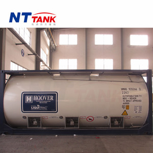 Top quality liquid transportation 20 feet iso container dimensions