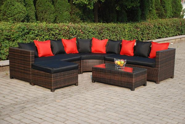 All Weather heavy wicker outdoor furniture