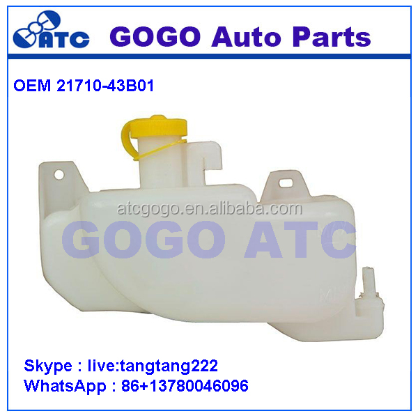 COOLANT EXPANSION TANK BOTTLE FOR N issan Micra <strong>K11</strong> 1992-2002 OEM 21710 -43B01