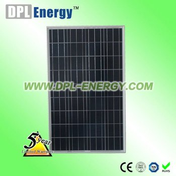 DPL-90W poly solar panel price usd