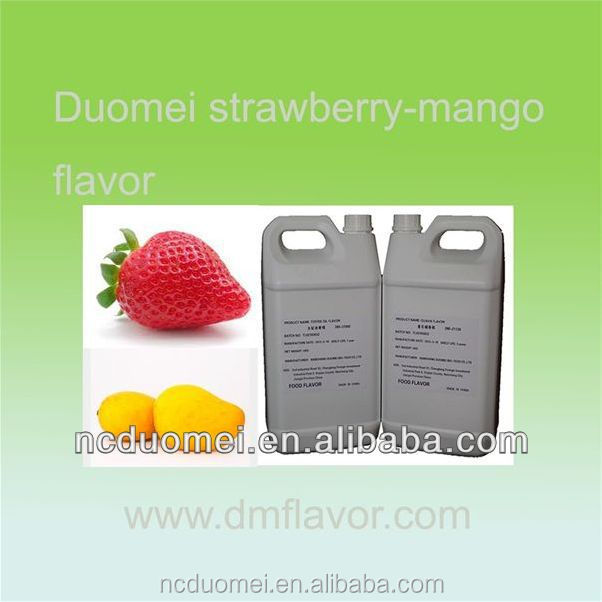 PG based strawberry mango flavouring food flavor for drink