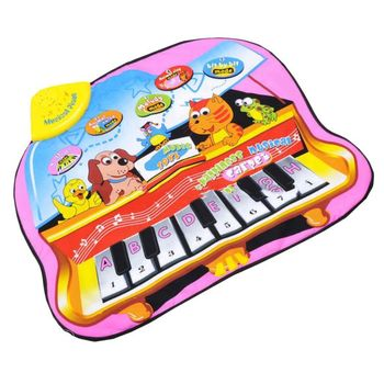 7582903-Kids Musical Touch Play Singing Crawl Mat baby Fun Educational Toy,baby play mat