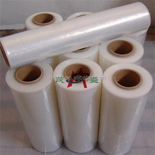protective plastic film PE pallet stretch film roll ldpe china film blue
