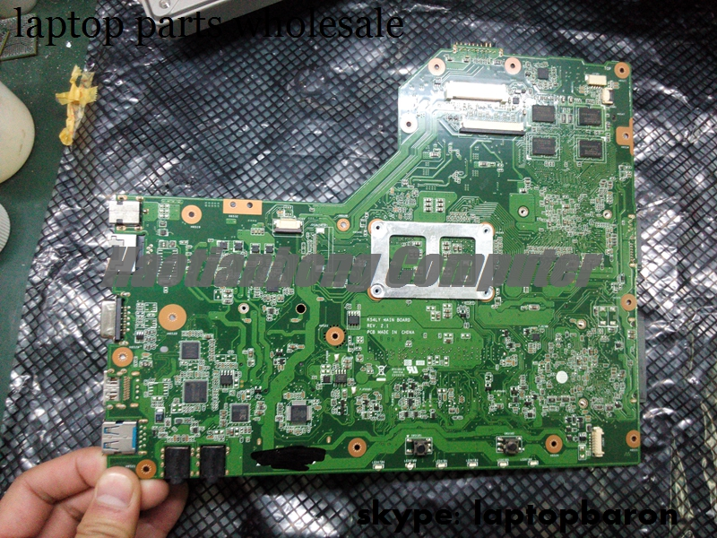 Wholesale motherboard for Asus K54LY REV:2.1 laptop non integrated radeon graphics motherboard
