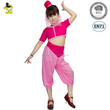 Toddler I Dream of Jeannie Costumes Carnival Party Belle&Beauty Fancy Dress for Girls