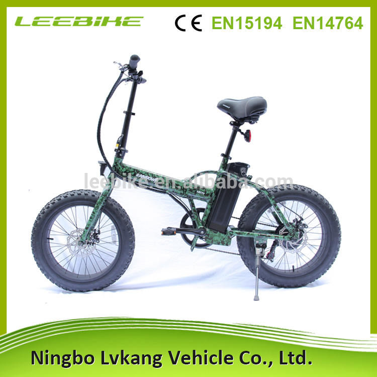 meiling new model mini folding ebike 5000w TUV EN15194 electric folding bicycle