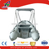 inflatable fishing bottom aluminum cabin boat