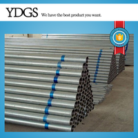 "Tianjin galvanized pipe ! 4"" drain pipe steel pipe hot dip galvanized thread ends"