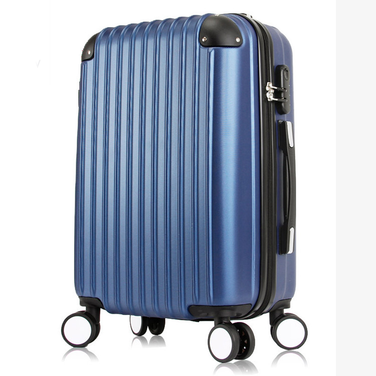 ABS hardside luggage set aluminum frame zipper rotary press-resistance luggage