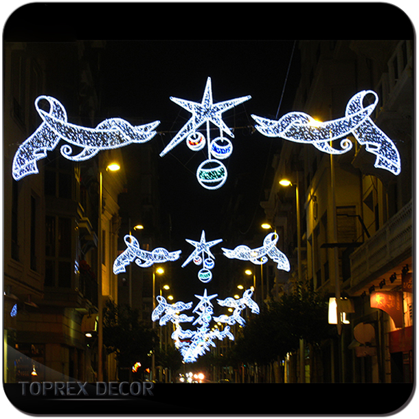 Holiday living outdoor decorations led light led motif light christmas light street decoration